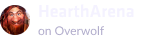 Heartharena on overwolf logo