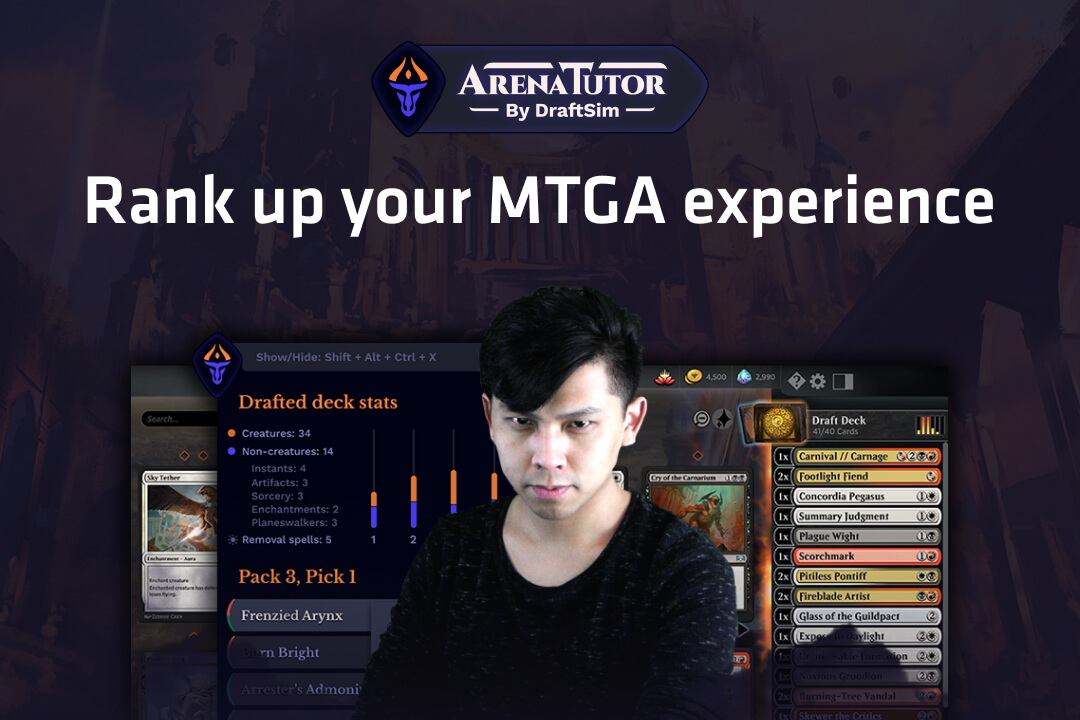 Arena Tutor For Magic The Gathering Arena Track Decks And Draft Like The Pros In Game An Overwolf App Game data is collected using our plugins for hearthstone deck tracker and trackobot. arena tutor for magic the gathering