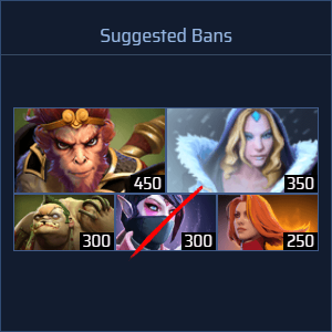 Ban Suggestions