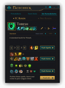 Push Runes & Builds​