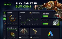 Play and earn buff coins