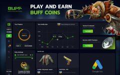 Play and earn buff coins